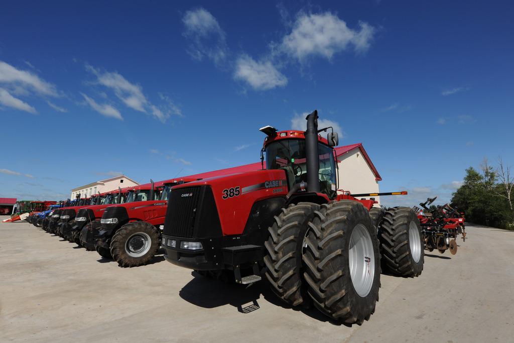 农业机械的使用