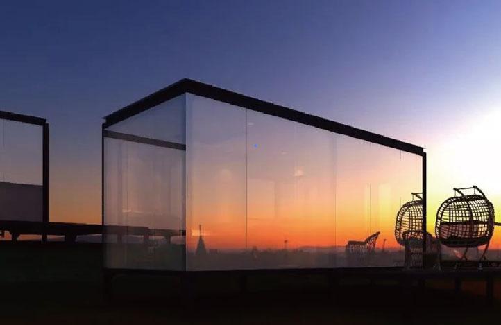 單向可透視玻璃