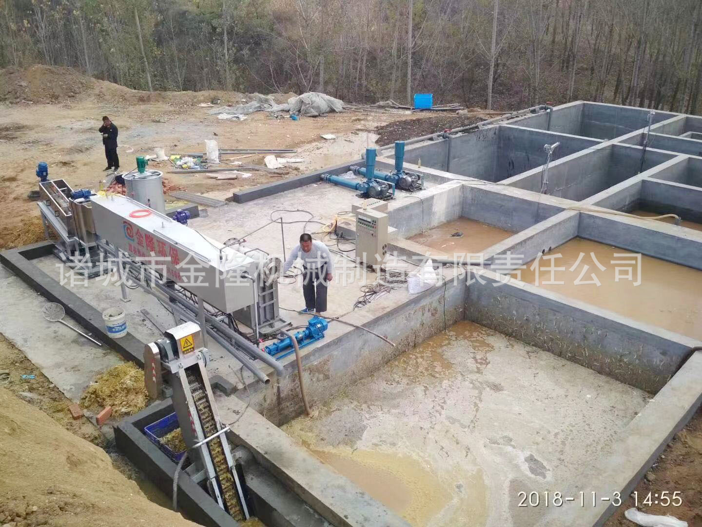 养鸭污水处理设备 养鹅污水处理设备 鸭粪污水处理设备