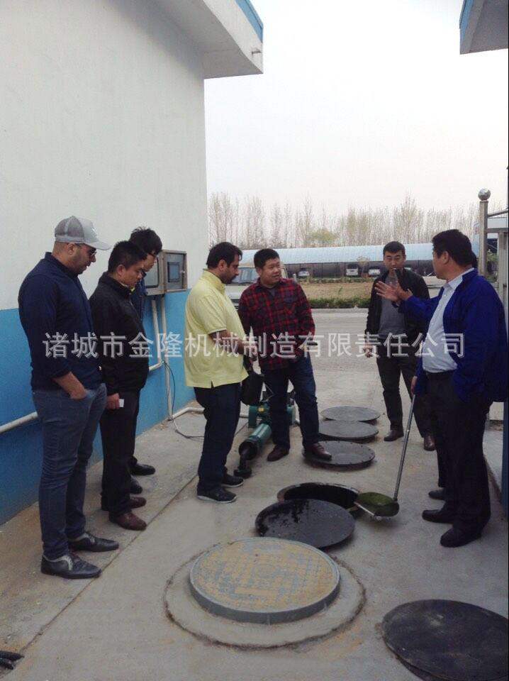YSZ圓型一體化生活汙水處理設備
