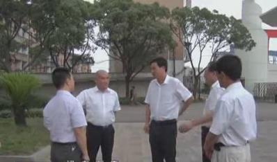Henglian Group Chairman Li Ruifeng inspected Yueyang Fengli Paper